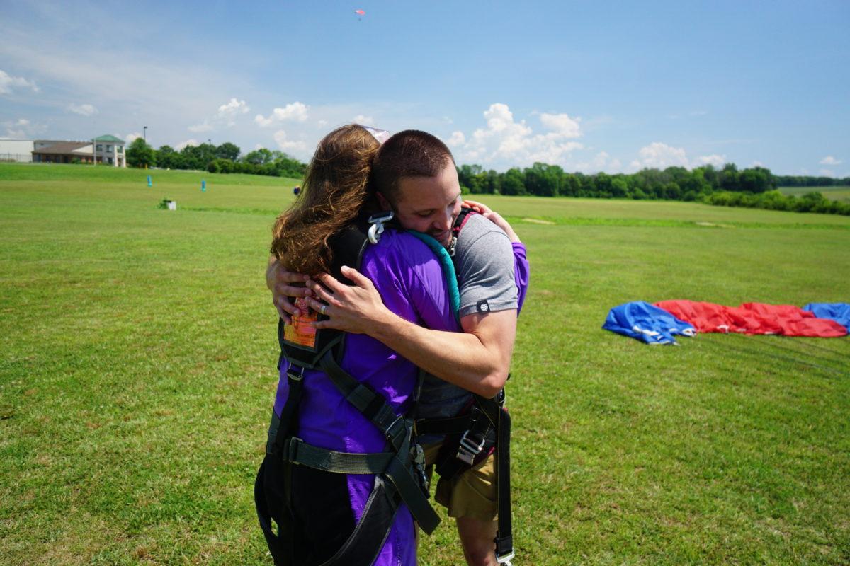 Maggie & John Pavelko | Skydive Orange