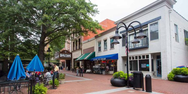 Charlottesville Virginia Downtown