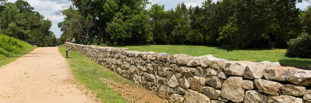 Fredericksburg Virginia Civil War Battlefield Wall