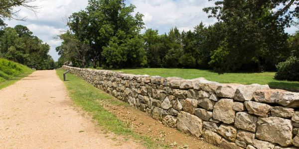 Fredericksburg Virginia Civil War Battlefield Wall