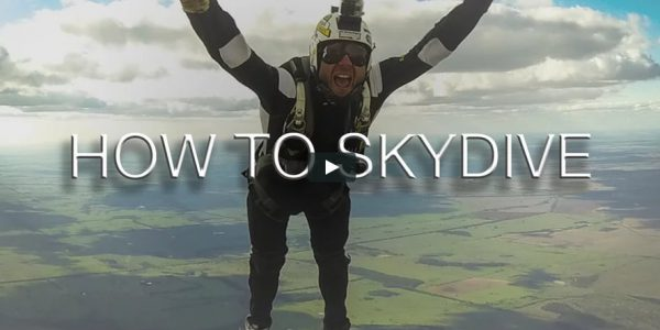 How to Skydive Video