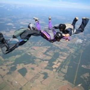 Jack Harding Skydive Orange AFF Student