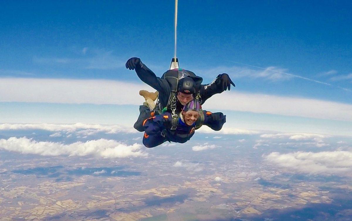 Jenith Hodge   Skydive Orange