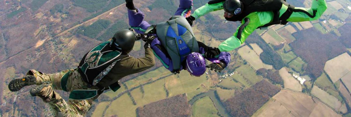 AFF Supervised Jump at Skydive Orange in Virginia