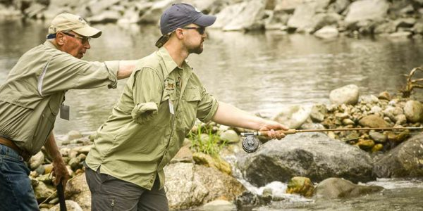 Veteran Fly Fishing with Project Healing Waters