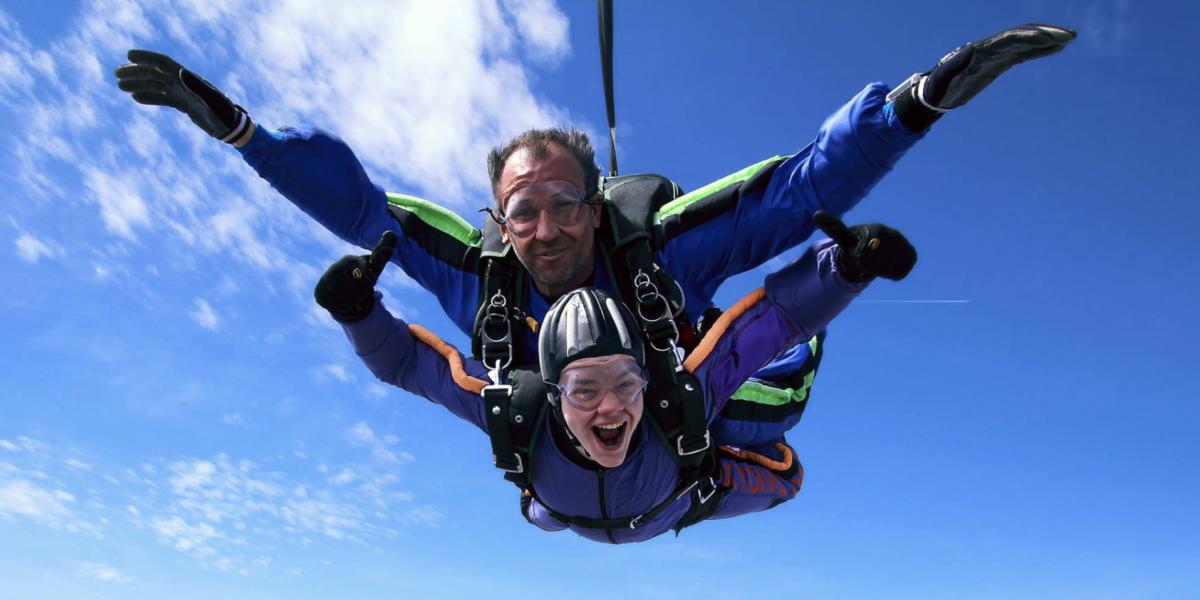 Skydiving In Winter | Skydive Orange