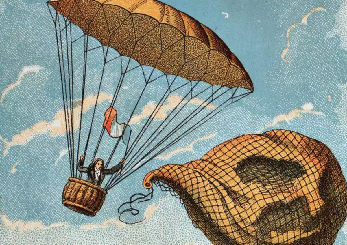 How Was Skydiving Invented? | Skydive Orange