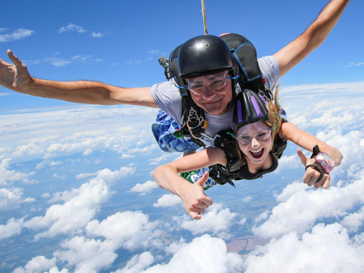 Is Skydiving Scary? | Skydive Orange