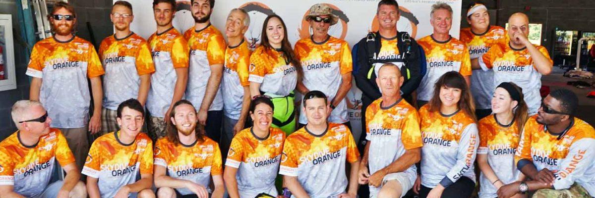 Skydive Orange Staff Members