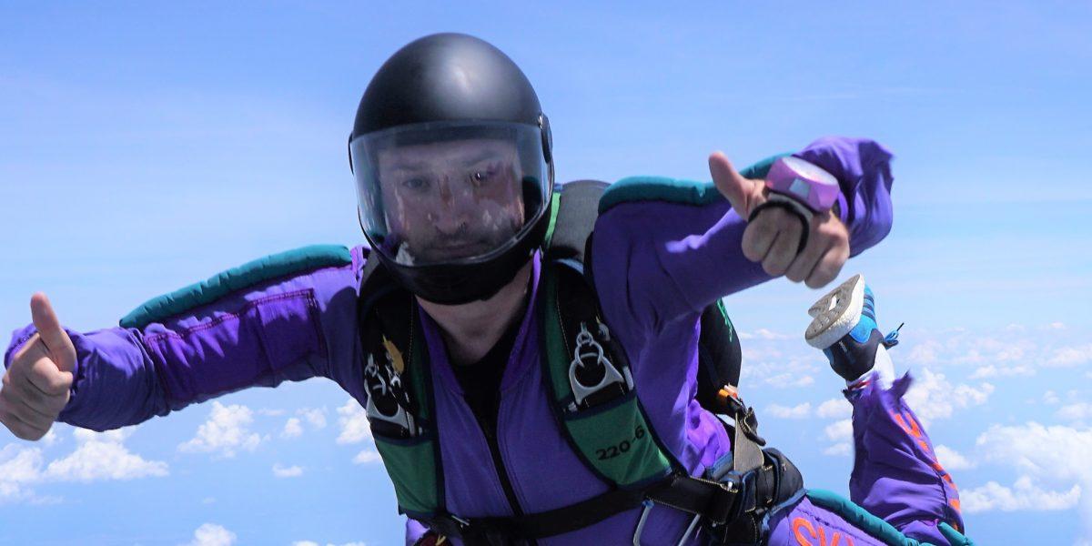 is skydiving safe | skydive orange