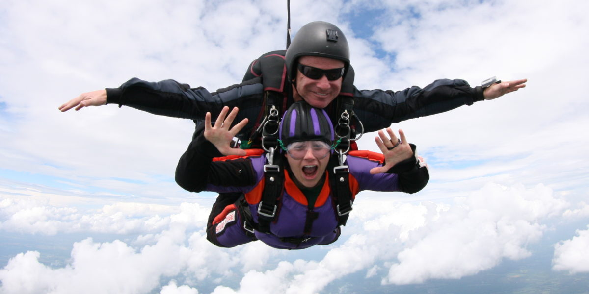 The HALO Tandem Jump | Skydive Orange