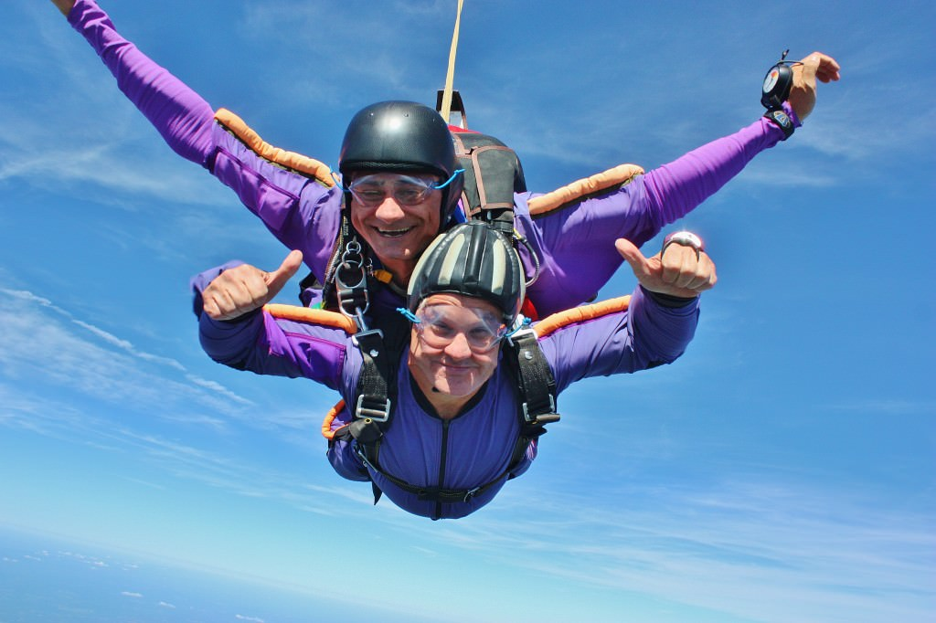 Tandem Skydiving Student Skydive Orange