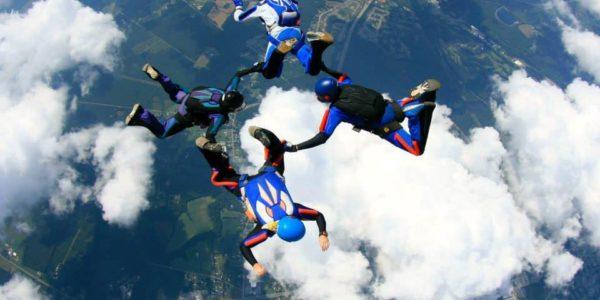 Team Training at Skydive Orange