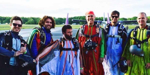 Wingsuiting at Skydive Orange in Virginia