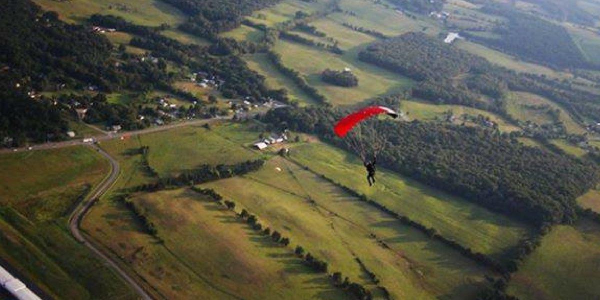 our views skydiving at skydive orange