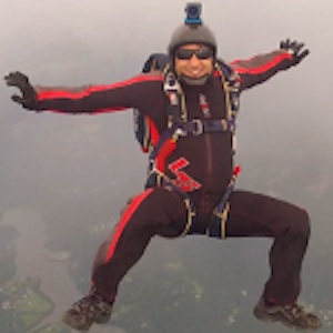 Ahmad Ismail Load Organizer Skydive Orange