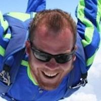Carl Lambert Skydive Orange Staff