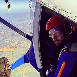 Colm Walker Skydive Orange AFF Student
