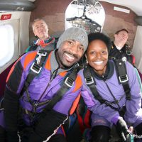 couple before skydive