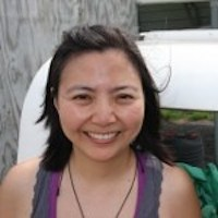 Elizabeth Kang Skydive Orange Staff