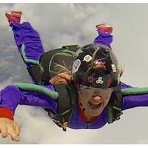 Kelly Gray Skydive Orange AFF Student