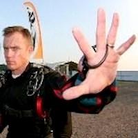 Kevin Reynolds Skydive Orange Staff