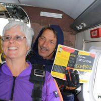 lisa sherf tandem skydive student