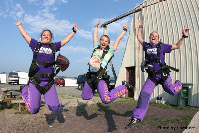 Skydive Orange Tandem Skydive Students