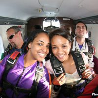 tandem students at Skydive Orange