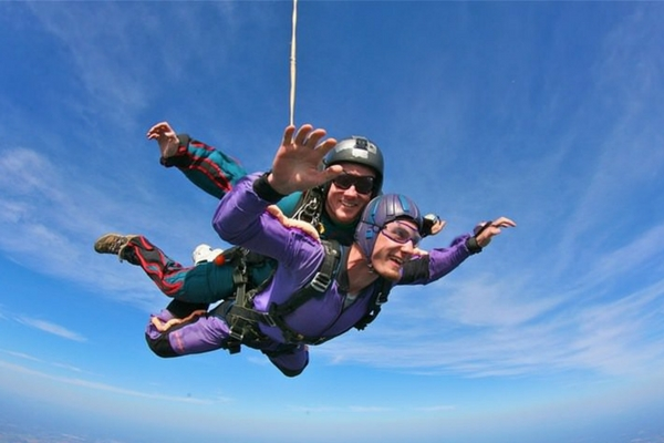 Embrace Your Fear & Change Your Life | Skydive Orange